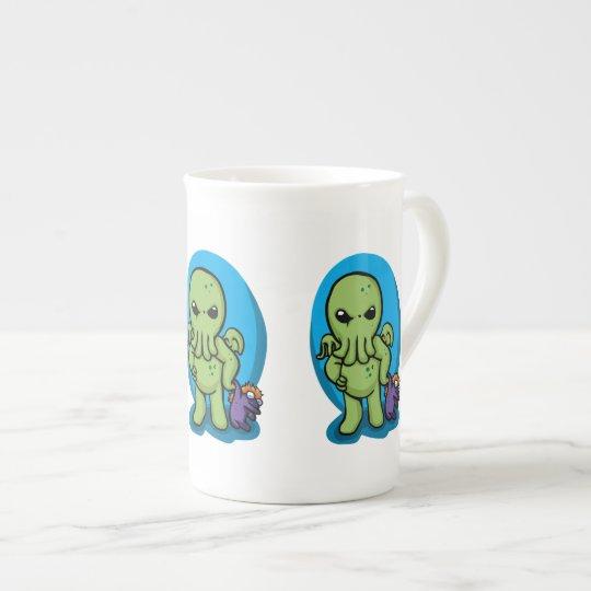 Baby cthulhu - cute cthulhu - cthulhu halloween tea cup
