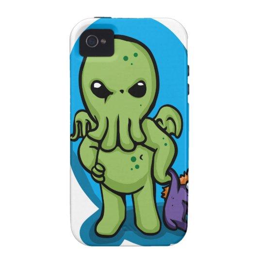 Baby cthulhu - cute cthulhu - cthulhu halloween vibe iPhone 4 cases