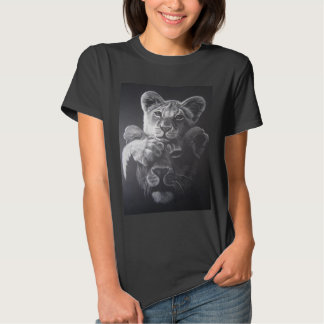 Baby cub & Lioness T Shirts