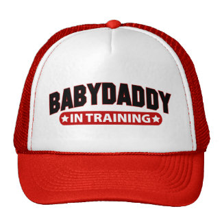 Baby Daddy In Training Mesh Hats