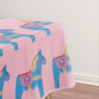 Baby Dala Horses Tablecloth