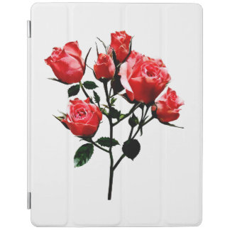 Baby Dark Pink Roses iPad Cover