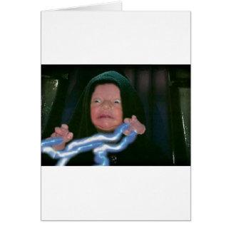 Baby Dark Side Greeting Card