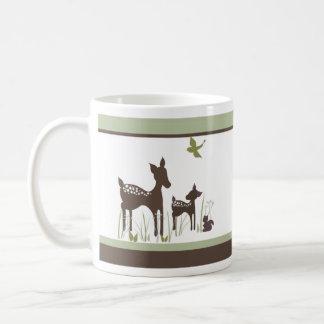 Baby Deer and Momma Mug