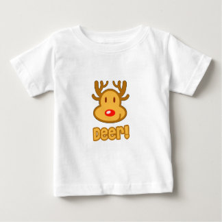 Baby Deer Cartoon Baby T-Shirt