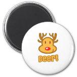 Baby Deer Cartoon Magnets