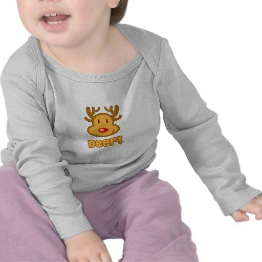 Baby Deer Cartoon T-shirt