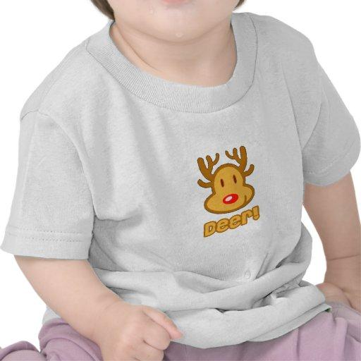 Baby Deer Cartoon T Shirt