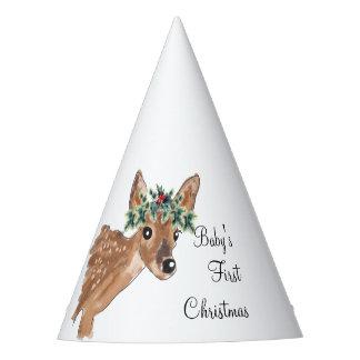 Baby Deer Custom Party Hats