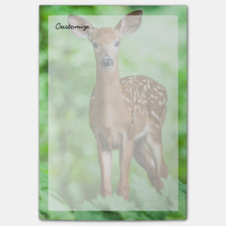 Baby Deer Fawn in the Forest Post-it Notes