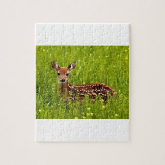 Baby Deer Fawn Jigsaw Puzzle