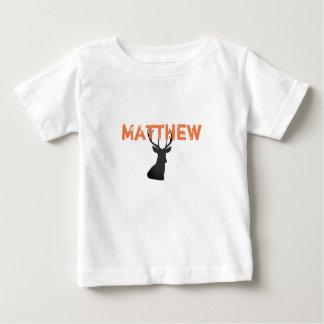 Baby Deer Hunter Shirt With Buck and Name