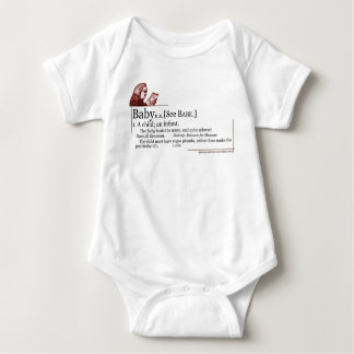 """Baby"" Definition Onsie Baby Bodysuit"