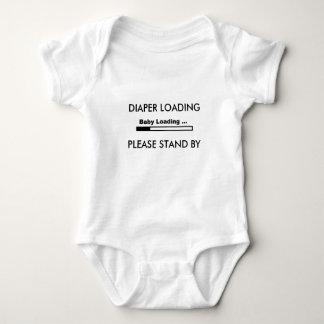 Baby Diaper laugh Baby Bodysuit