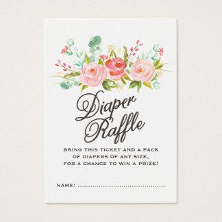 Baby Diaper Raffle Ticket