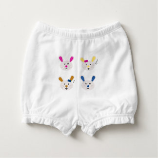 Baby diapers with Bunnies Nappy Cover