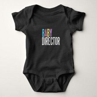 Baby director jersey bodysuit dark