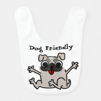 Baby dog Friendly Bib