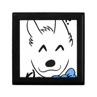 Baby dog gift box
