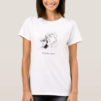 Baby-doll Branca - Narnian Kings T-Shirt