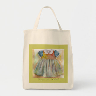 Baby Doll Dress Grocery Tote Bag