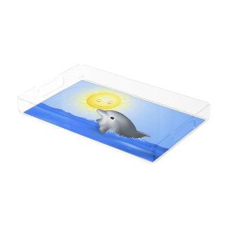 Baby Dolphin Acrylic Tray
