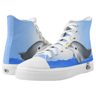 Baby Dolphin High Tops