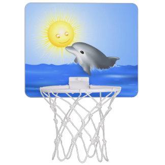 Baby Dolphin Mini Basketball Hoop