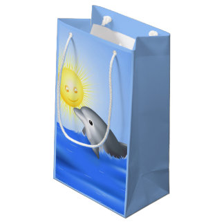 Baby Dolphin Small Gift Bag