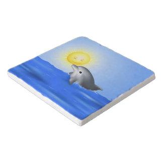 Baby Dolphin Trivet