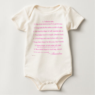 Baby Do's and Don'ts! Baby Bodysuit