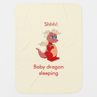 Baby Dragon Baby Blankets