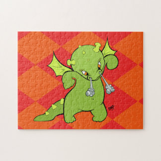 Baby Dragon Cartoon Puzzle