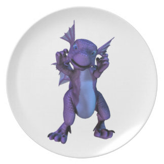 Baby Dragon Plate