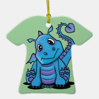 Baby Dragon T-Shirt Ornament
