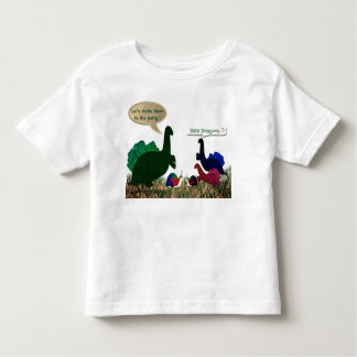 Baby dragons birthday toddler T-Shirt