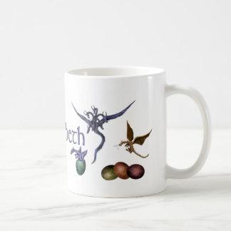 Baby dragons mug