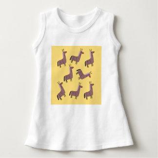 Baby dress lamas