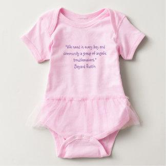 Baby Dress Rustin Quote