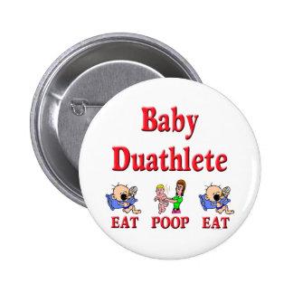 Baby Duathlete 2 Pins