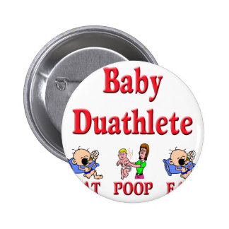 Baby Duathlete 2 Button