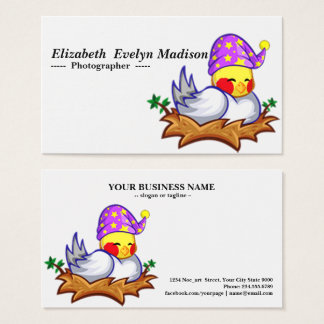 baby duck 678 business card