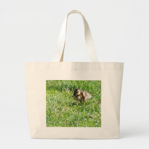 Baby duck canvas bags
