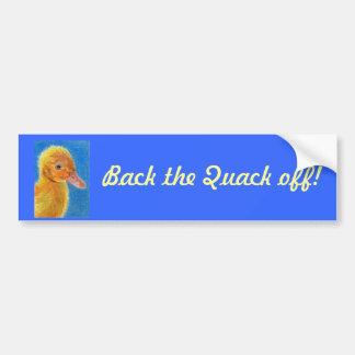 Baby Duck Bumper Sticker