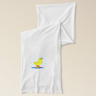 Baby duck scarf