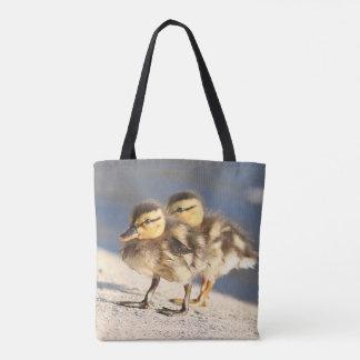 Baby Ducks Ducklings Bird Wildlife Animal Tote Bag