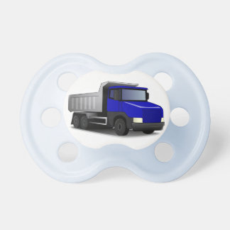 Baby dummy : Blue truck - Pacifiers