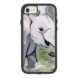 Baby Elephant 2 (Kimberly Turnbull Art) Case-Mate Tough Extreme iPhone 8/7 Case