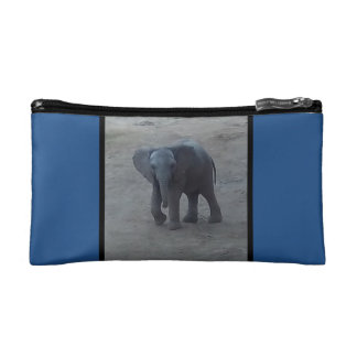 Baby Elephant Cosmetic Bag - Choose Color