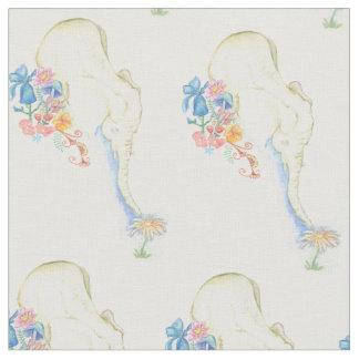 baby elephant fabric